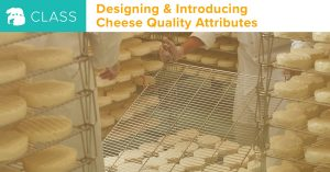 Virtual Course: Designing and Introducing Cheese Quality Attributes